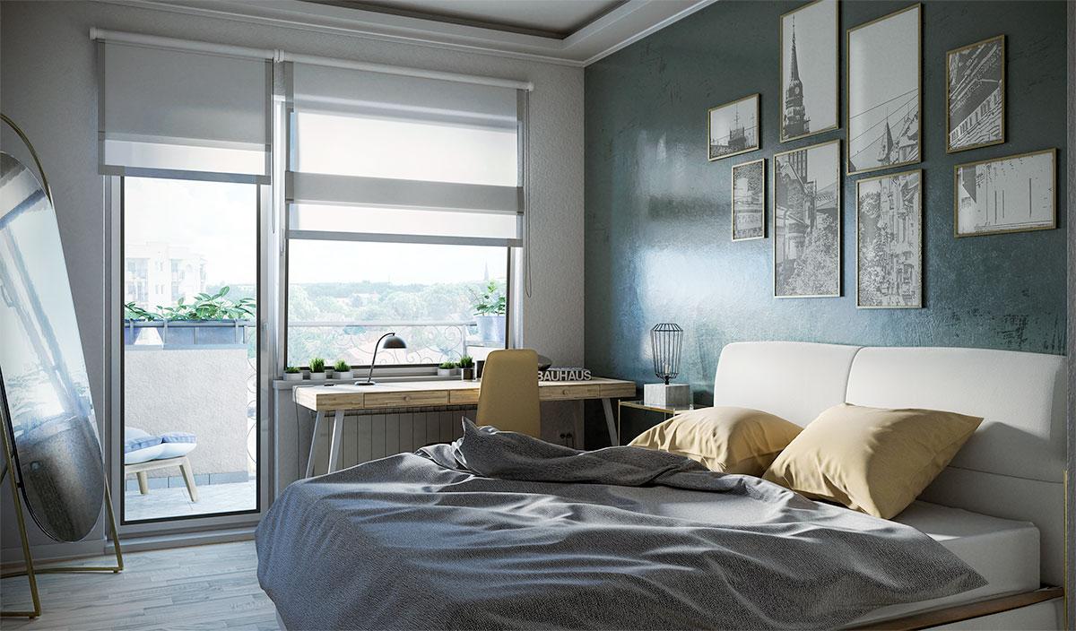 Cenzar nekretnine - spavaća soba u novogradnji