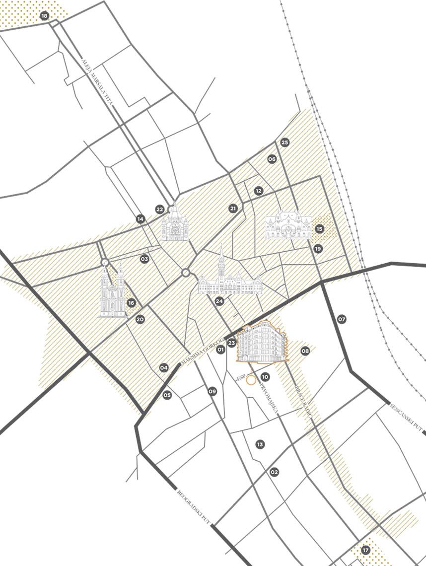 Subotica lokacije